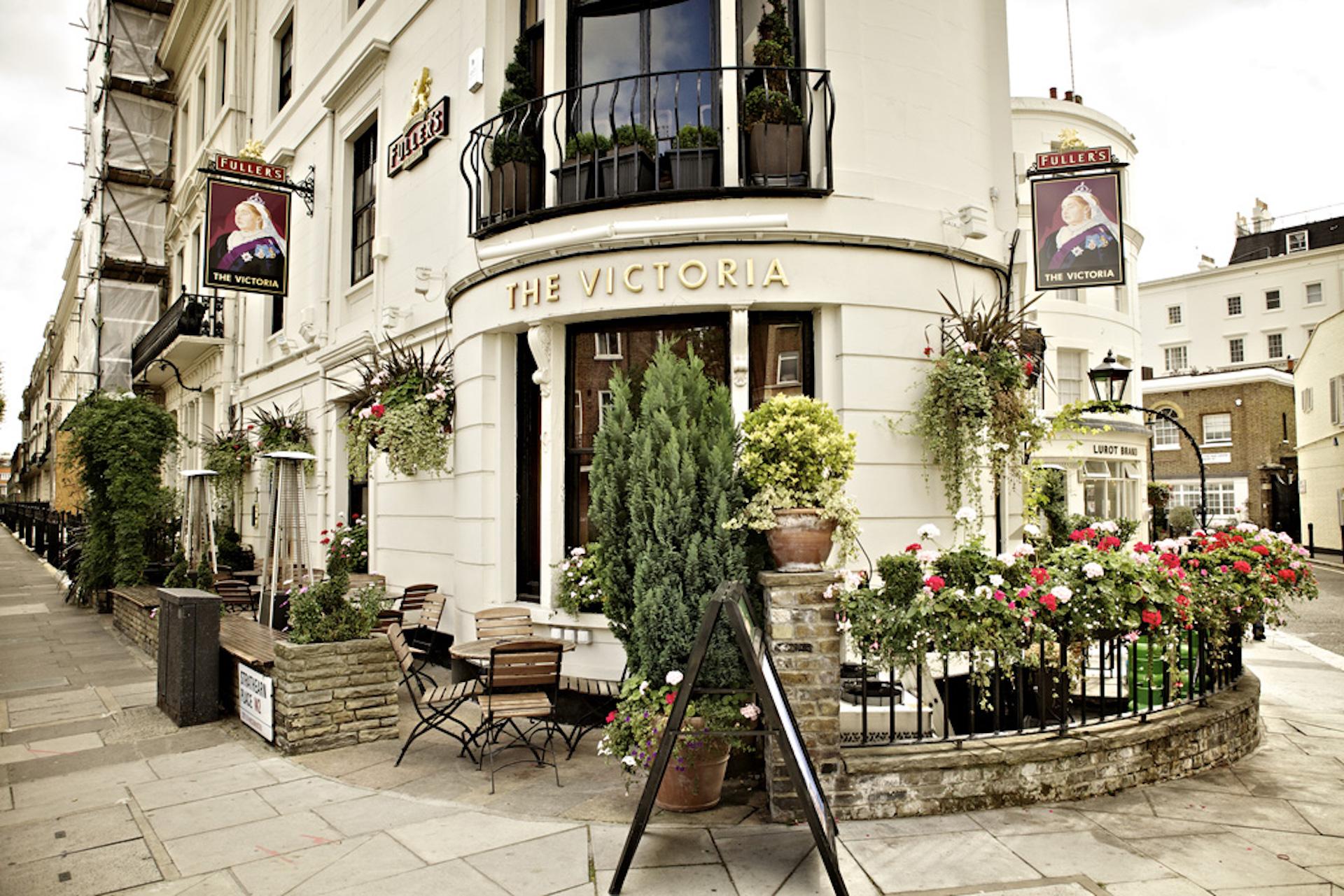 The Victoria Fullers Pub and Restaurant in Paddington